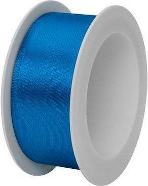 Rola panglica satin,25mmx3m,Uni Colour,albastru
