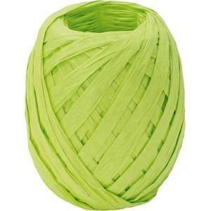 Ribon rafie,7mmx30m,Uni Colour,verde deschis