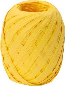 Ribon rafie,7mmx30m,Uni Colour,galben