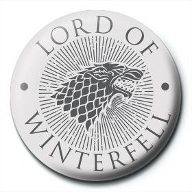 Insigna Game Of Thrones (Lord Of Winterfell)