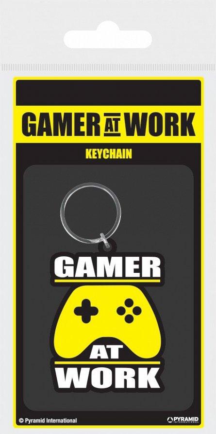 Breloc silicon Gamer At Work (Joypad)