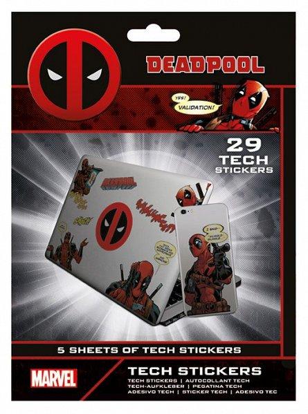 Set abtibilduri Tech - Deadpool (Merc With a Mouth)