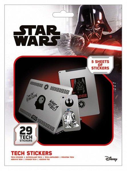 Set abtibilduri Tech - Star Wars (Force)