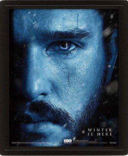 Poster 3D Lenticular Game of Thrones (Jon Snow VS Night King)