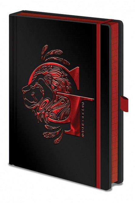 Caiet A5 Premium Harry Potter (Gryffindor Foil)