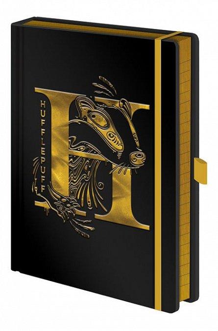 Caiet A5 Premium Harry Potter (Hufflepuff Foil)