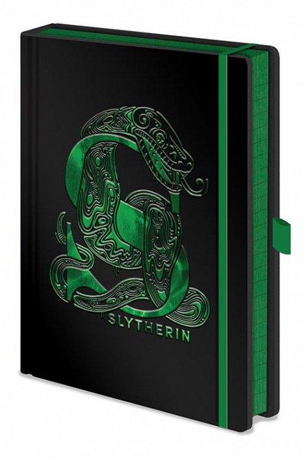 Caiet A5 Premium Harry Potter (Slytherin Foil)