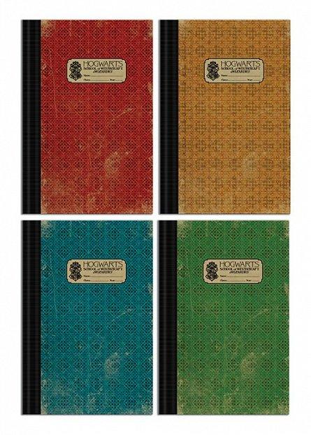 Set 4 Caiete B5 Fantastic Beasts The Crimes of Grindelwald (Hogwarts)