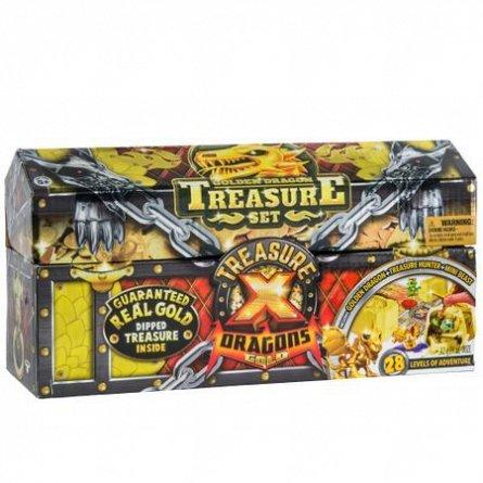 Treasure X,Figurina surpriza cu slime,Cufar,3buc/set,S2