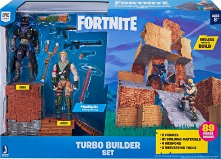 Fortnite,Constructor turbo,2 figurine si acc