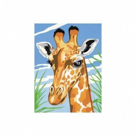 Pictura pe numere,Reeves,Giraffe