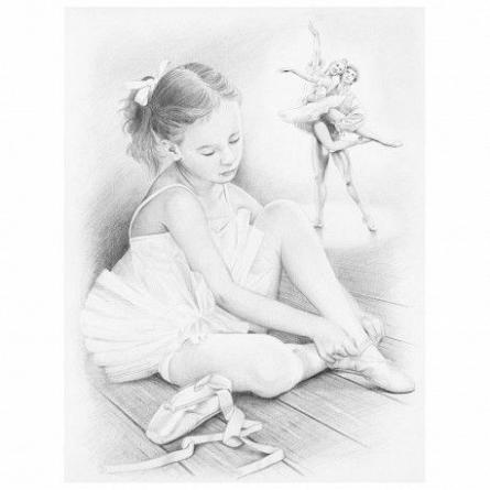 Pictura pe numere,Reeves,Ballerina