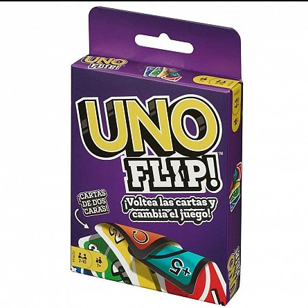 Carti de joc Uno Flip