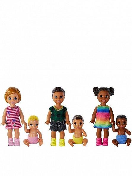 Papusa Barbie,Babysister,copii,2buc/set,div modele