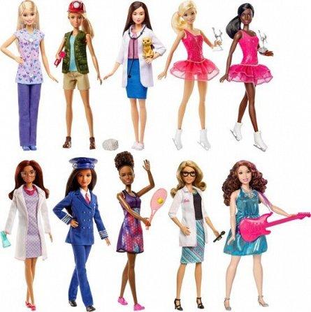 Papusa Barbie,cariere,div modele