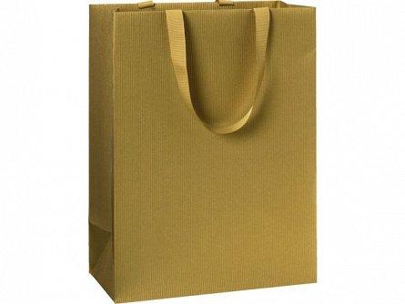 Punga cadou 25x13x33 cm, One Colour, auriu