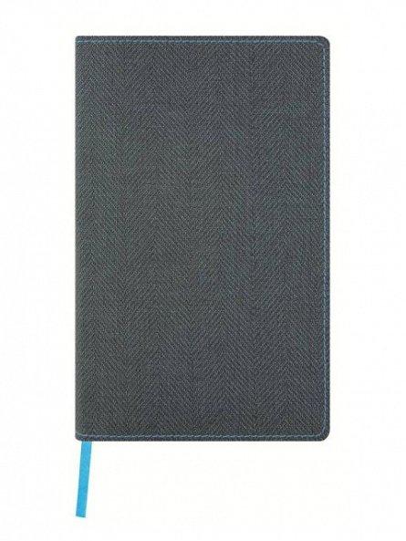 Agenda 13x21cm,120f,velin,Slate Blue