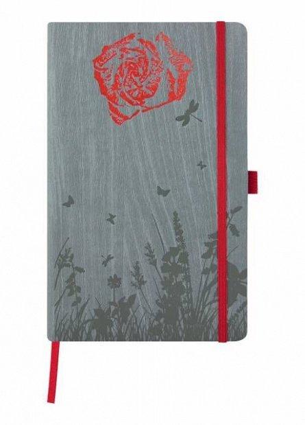 Agenda 13x21cm,120f,dict,Foresta,Rose