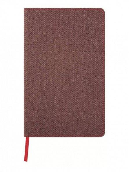 Agenda 13x21cm,120f,mate,Maple Red