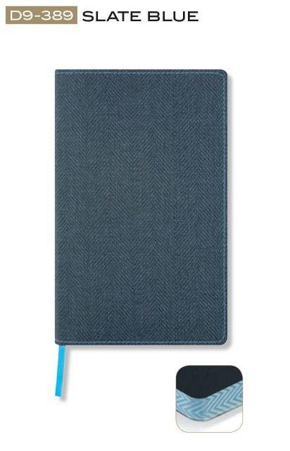 Agenda 13x21cm,120f,dict,Slate Blue