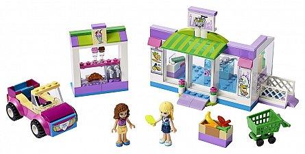 LEGO Friends,Supermarketul din Heartlake City