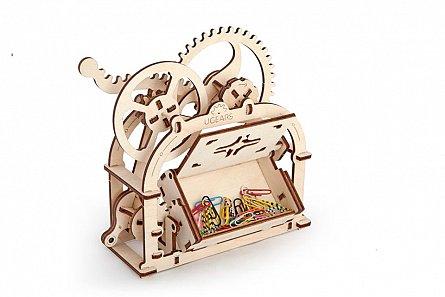 Puzzle mecanic,Cutie mecanica,lemn