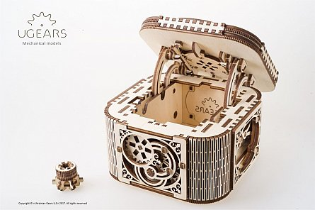 Puzzle mecanic,Cutie cu comori,lem