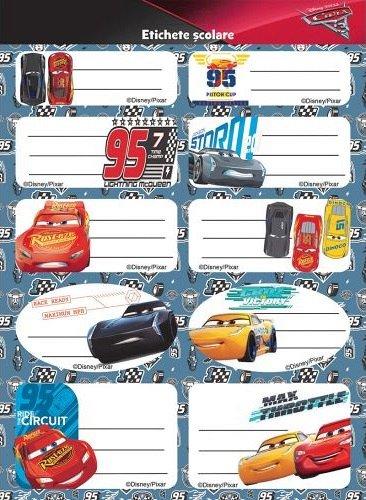 Etichete 20buc/set,Cars