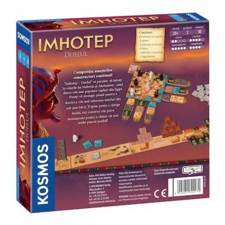 Joc Imhotep,Duelul