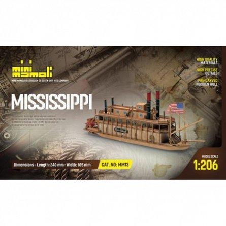Kit macheta corabie lemn,Mississippi