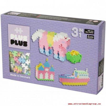 Plus-Plus,Pastel 3in1,220pcs