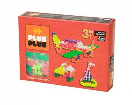 Plus-Plus,Neon 3in1,220pcs