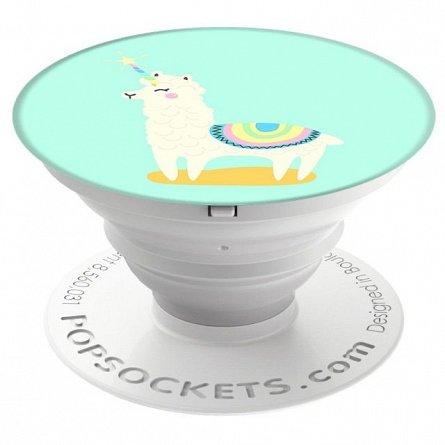 Stand Suport Telefon PopSockets Llamacorn