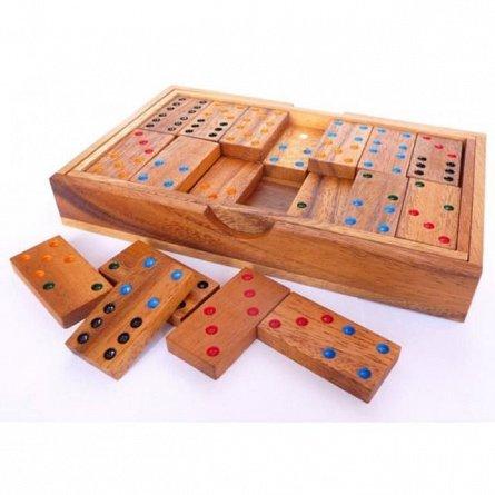 Joc Domino clasic,lemn,+4Y