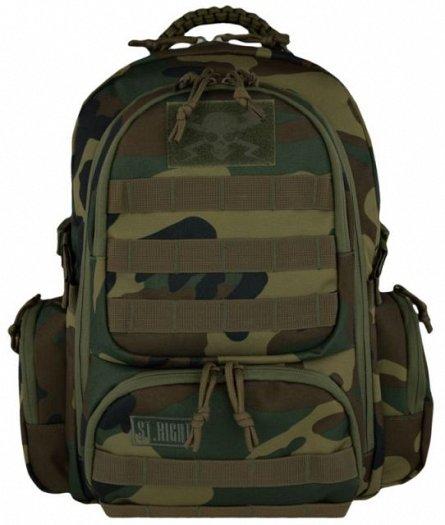 Rucsac 30x45x20cm,4comp,St.Right,Military