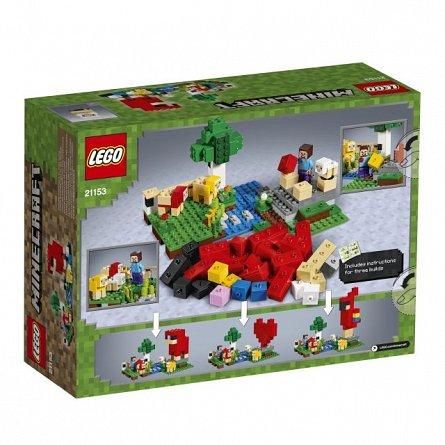 LEGO Minecraft,Ferma de lana