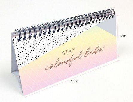 Calendar birou,Rose Gold