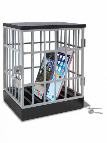 Inchisoare pentru telefoane, cu lacat - Phone Jail