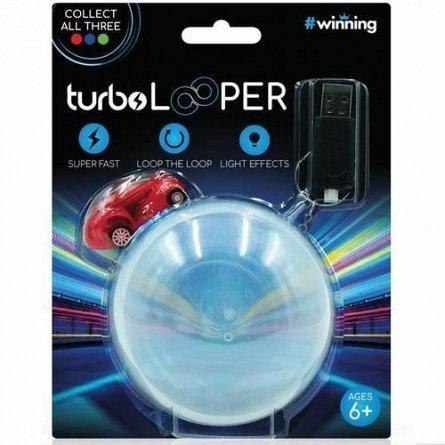 Masina Turbo Loopers cu sfera de trucuri, rosu