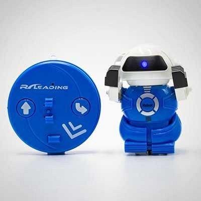 Robotel in conserva, Albastru