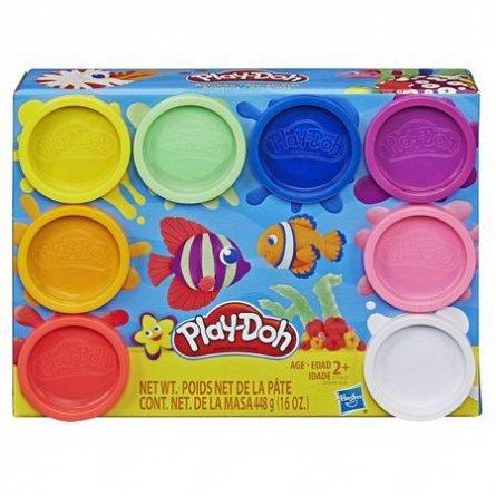 Play-Doh- Set 8 cutii, 55g/cutie,div.culori