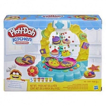 PlayDoh-Set creatie,Turnul de prajituri,set