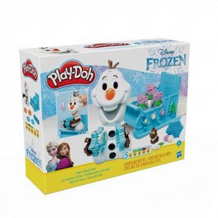 PlayDoh-Set creatie,Olaf si fulgii de zapada,set