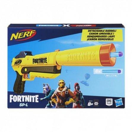 Nerf-Blaster Fortnite Sneaky Spinger,6 proiectile