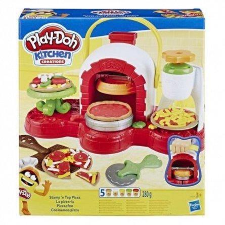 PlayDoh-Set creatie,Atelierul de pizza,set