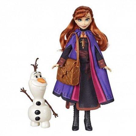 Papusa Disney,Frozen 2,Anna,cu prieten si accesorii