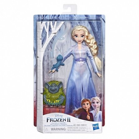 Papusa Disney,Frozen 2,Elsa,cu prieten si accesorii