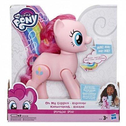 MLP-Figurina interactiva,Pinkie Pie Oh My Giggles
