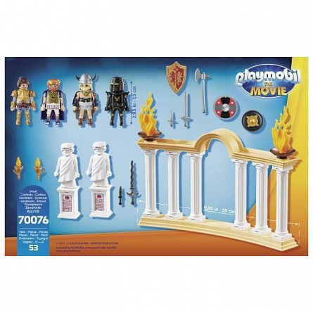 Playmobil-Imparatul Maximus in Colosseum