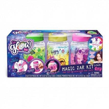 So Glow,borcanas magic cu led,3buc/set